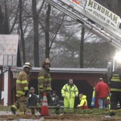 Pitney Farm Fire. photo via nj.com