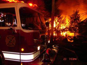 Queens Court fire, March 23, 2009