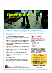 Hover Board Safety Tips