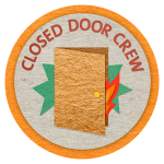 closed-door-crew-badge-orange