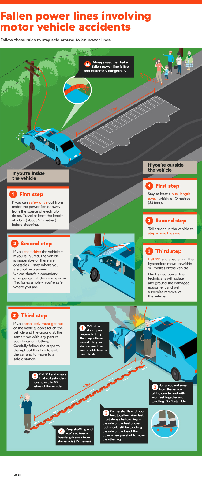 Downed Wires Infographic