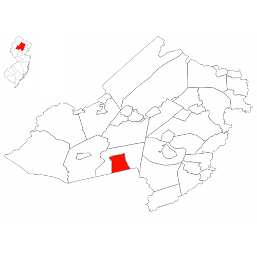 mendham-nj-map