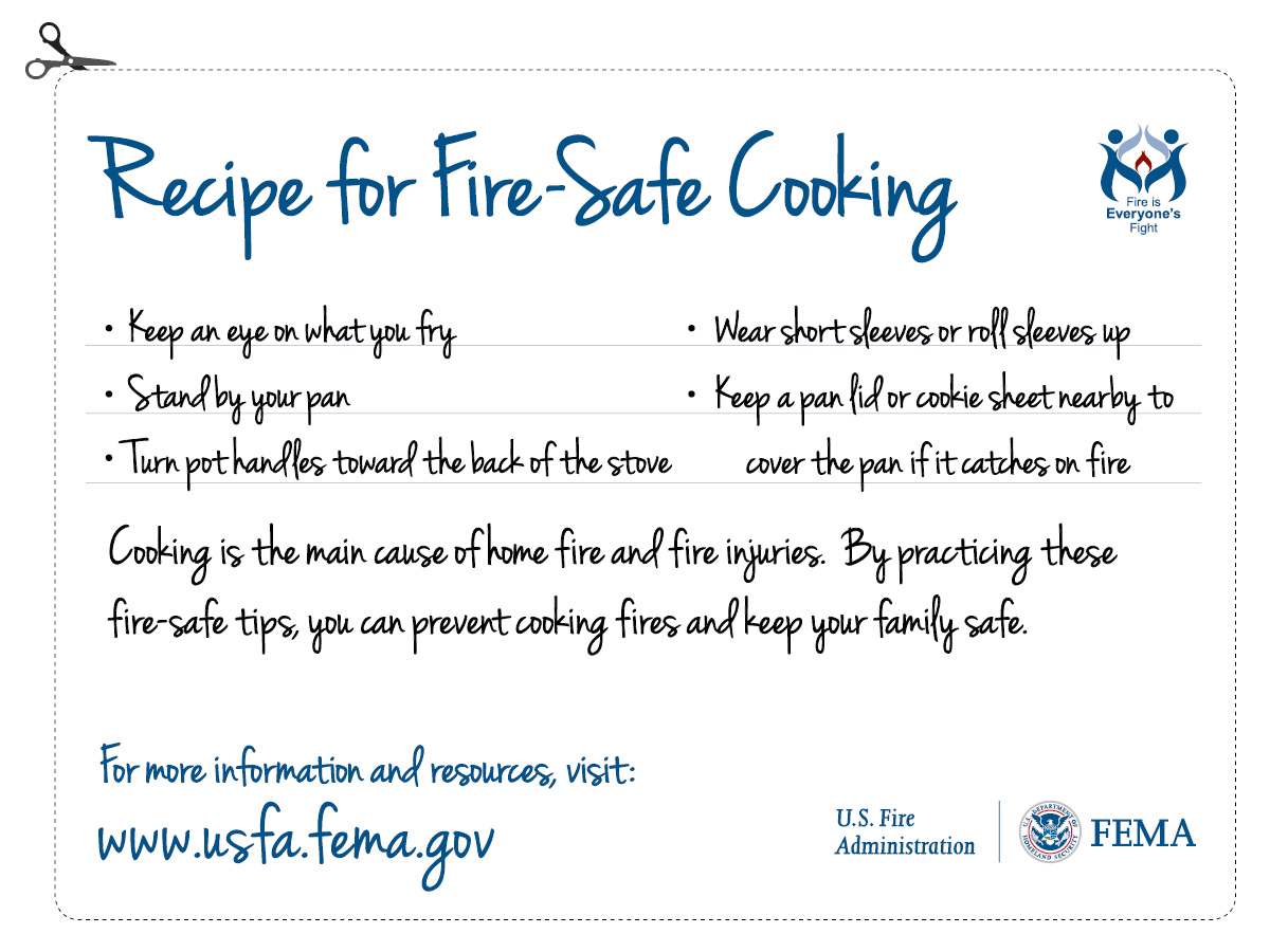 Recipe for Safe Cooking